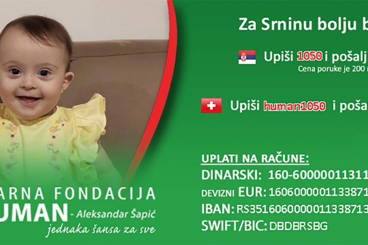 Srna Dragojević, humanitarna akcija