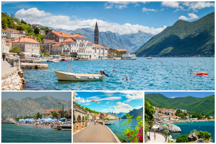 Crna Gora, more, Boka Kotorska