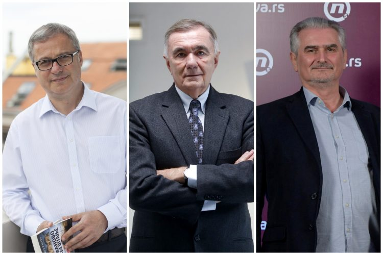 Dejan Papić, Dušan Kovačević, Zoran Hamović, sajam knjiga