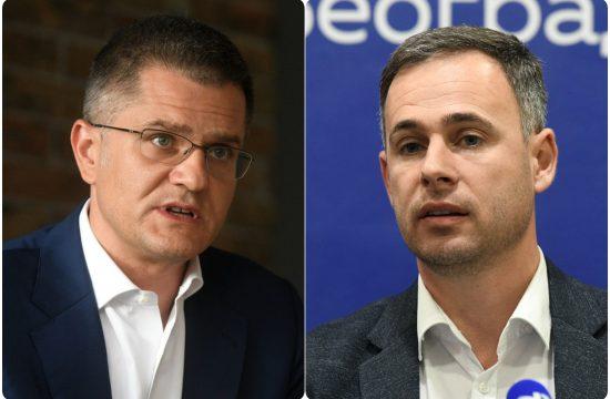 Vuk Jeremic i Miroslav Aleksic