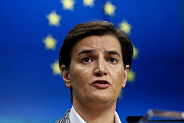 Ana Brnabic i Evropska unija