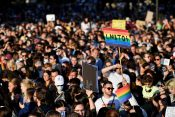 Madjarska Budimpesta protest LGBT