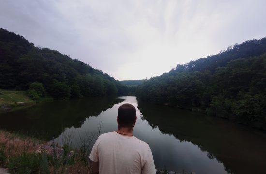 Ripanj, hronika, jezero Bela reka