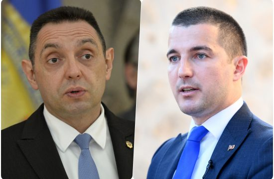 Aleksandar Vulin i Aleksa Becic