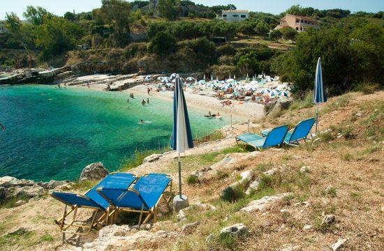 ležaljke u Grčkoj