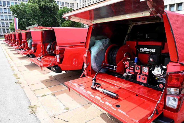 Specijalizovana vozila za gasenje pozara