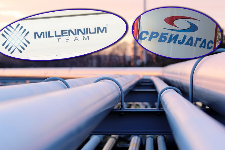 Srbijagas Milenijum tim