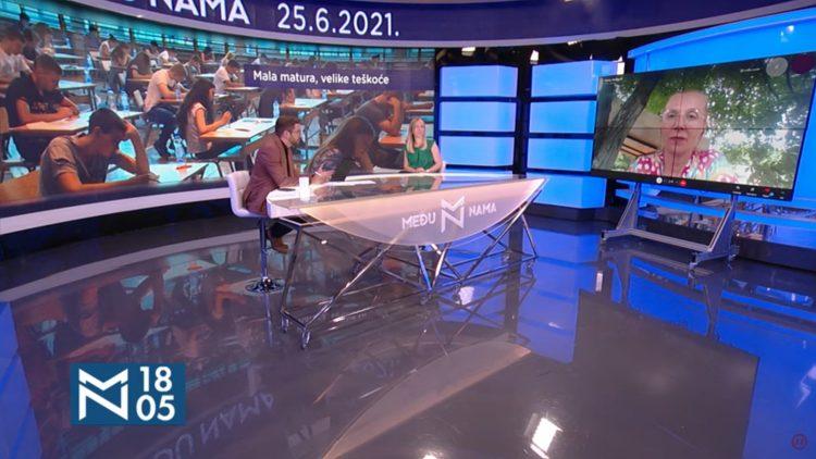 Gordana Plemić, Jasna Janković, mala matura, emisija Među nama, Medju nama