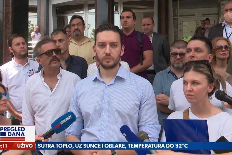 Pavle Grbović, Levijatan, Hoće li tužilaštvo reagovati na zahtev za zabranu pokreta Levijatan, prilog, emisija Pregled dana