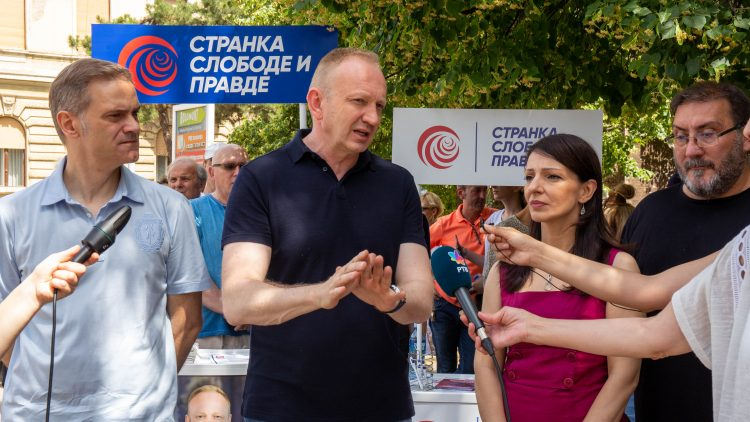 Kikinda, Borko Stefanović, Dragan Đilas, Dragan Djilas, Marinika Tepić, SSP
