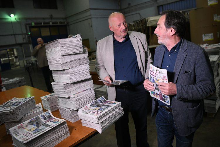 Stojan Drcelic Veselin Simonovic Novine Nova