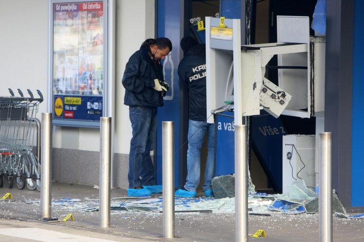 razneseni bankomat hrvatska