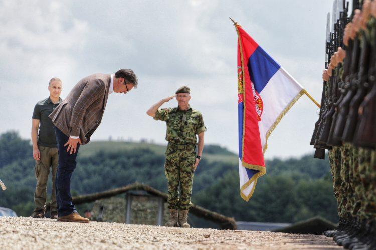 vojna vežba munjeviti udar, Aleksandar Vučić