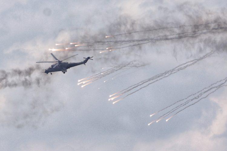 vojna vežba munjeviti udar