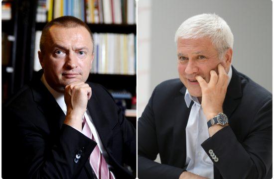 Bojan Pajtic i Boris Tadic