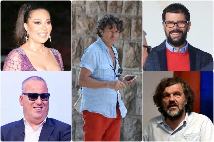 Saša Matić, Svetlana Raznatovic Ceca, Goran Bregović, Matija Kežman, Emir Kusturica