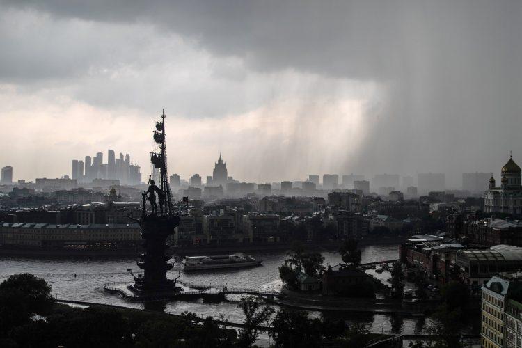 Moskva, nevreme