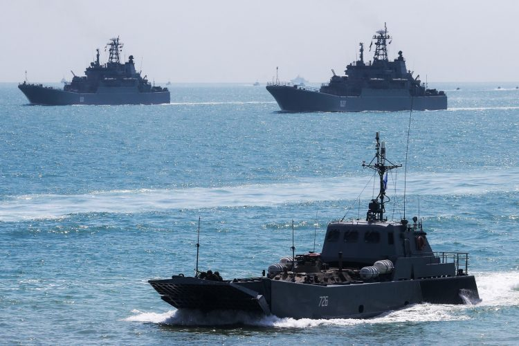 vojne vežbe crno more