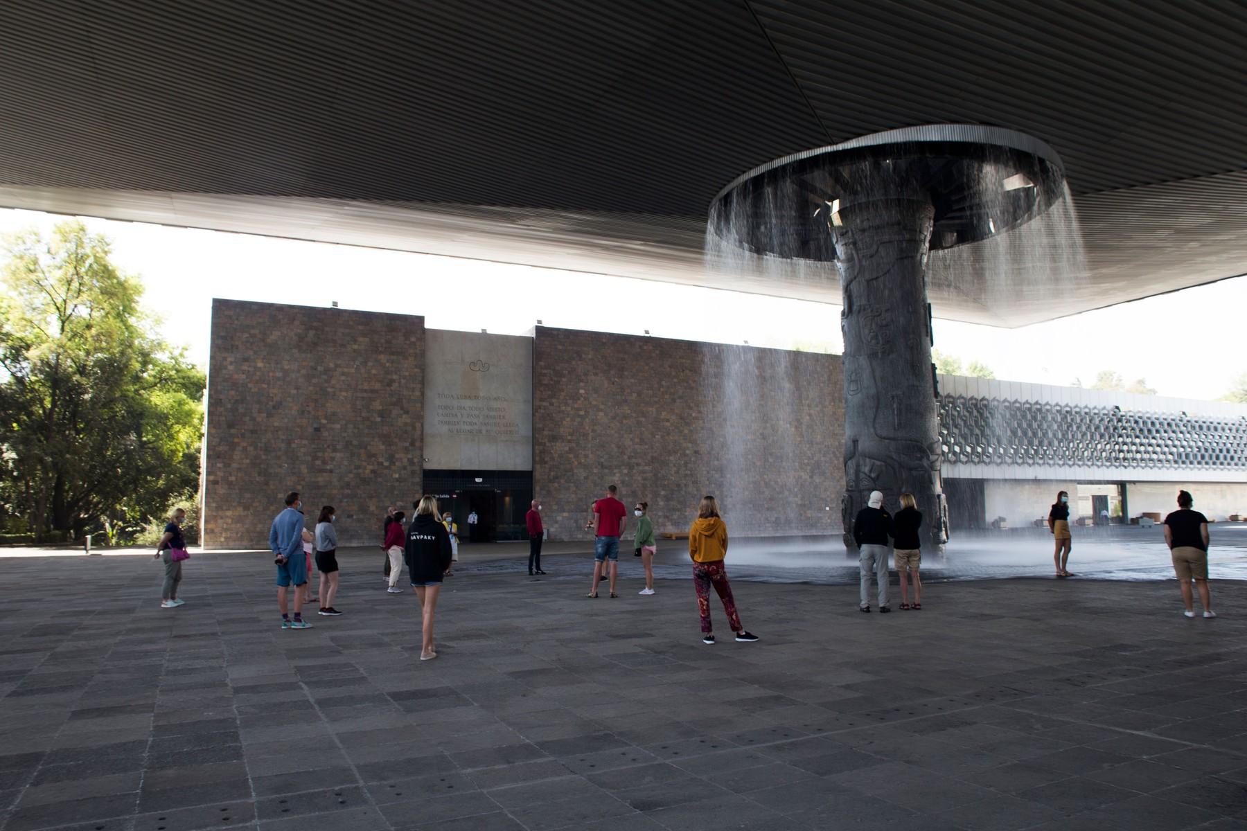 Muzej antropologije i istorije, Meksiko siti