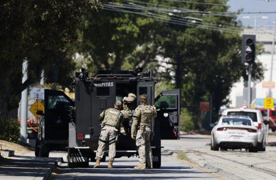 Kalifornija, policija