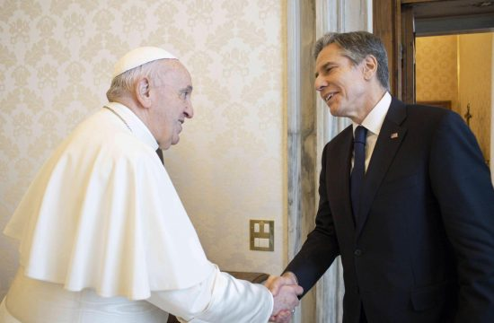 Entoni Blinken, Papa Franja, Vatikan