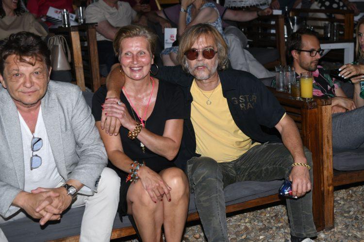 Dragan Bjelogrlić, Gala Videnović i Srđan Žika Todorović, Srdjan Žika Todorović, Bal na vodi, film, restaurirana verzija filma