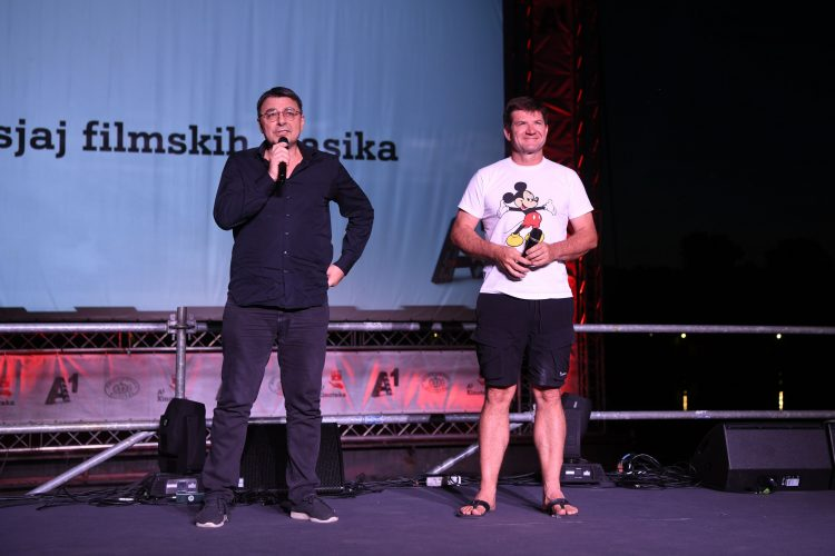 Jugoslav Pantelić i Dejan Turk Bal na vodi, film, restaurirana verzija filma