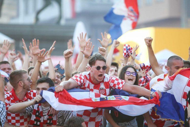 Zagreb, Hrvatska, navijači