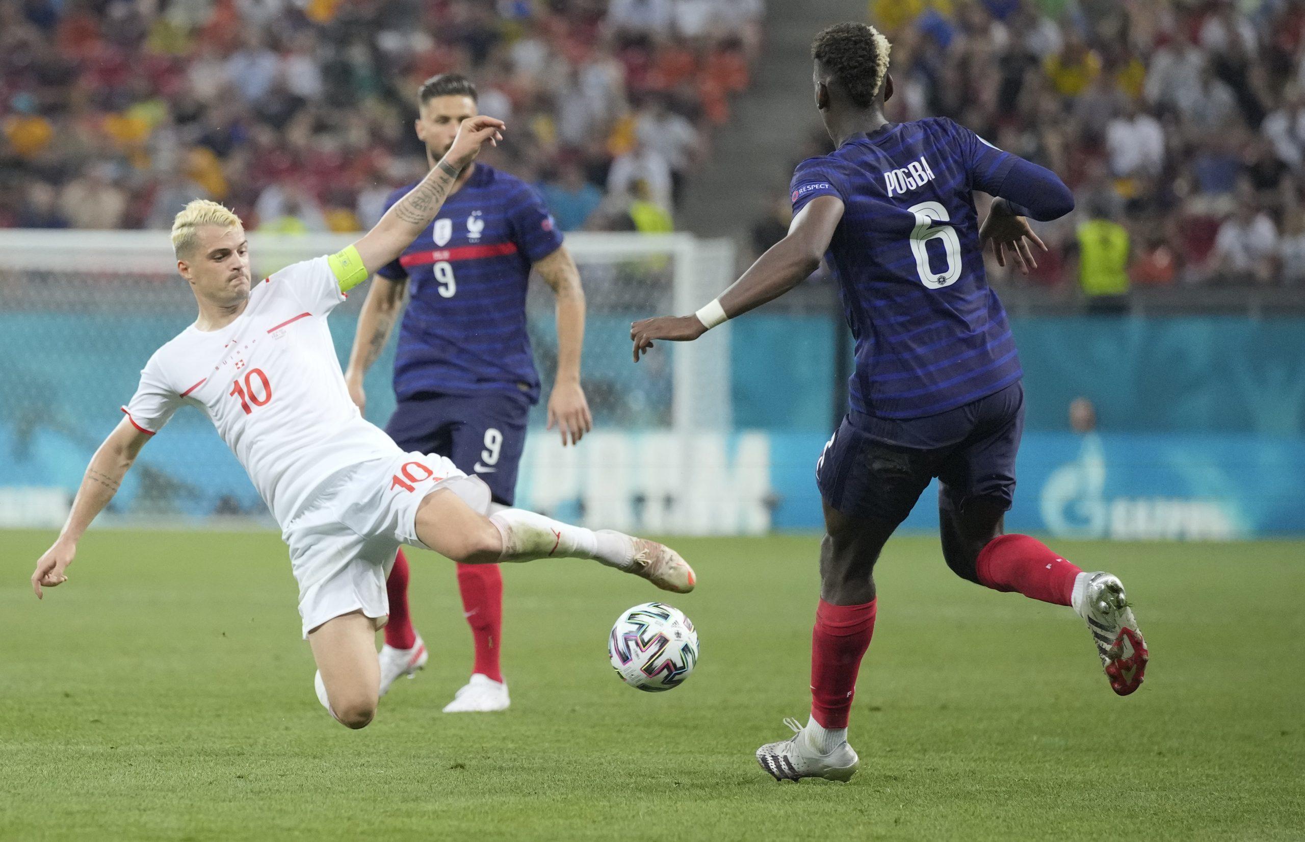 Euro 2020, Francuska, Švajcarska
