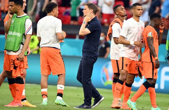 Frenk de Bur, Fudbalska reprezentacija Holandije