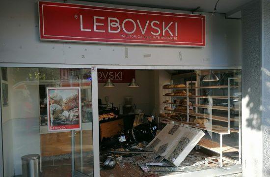 Vračar, pekara Lebovski, nesreća, motor
