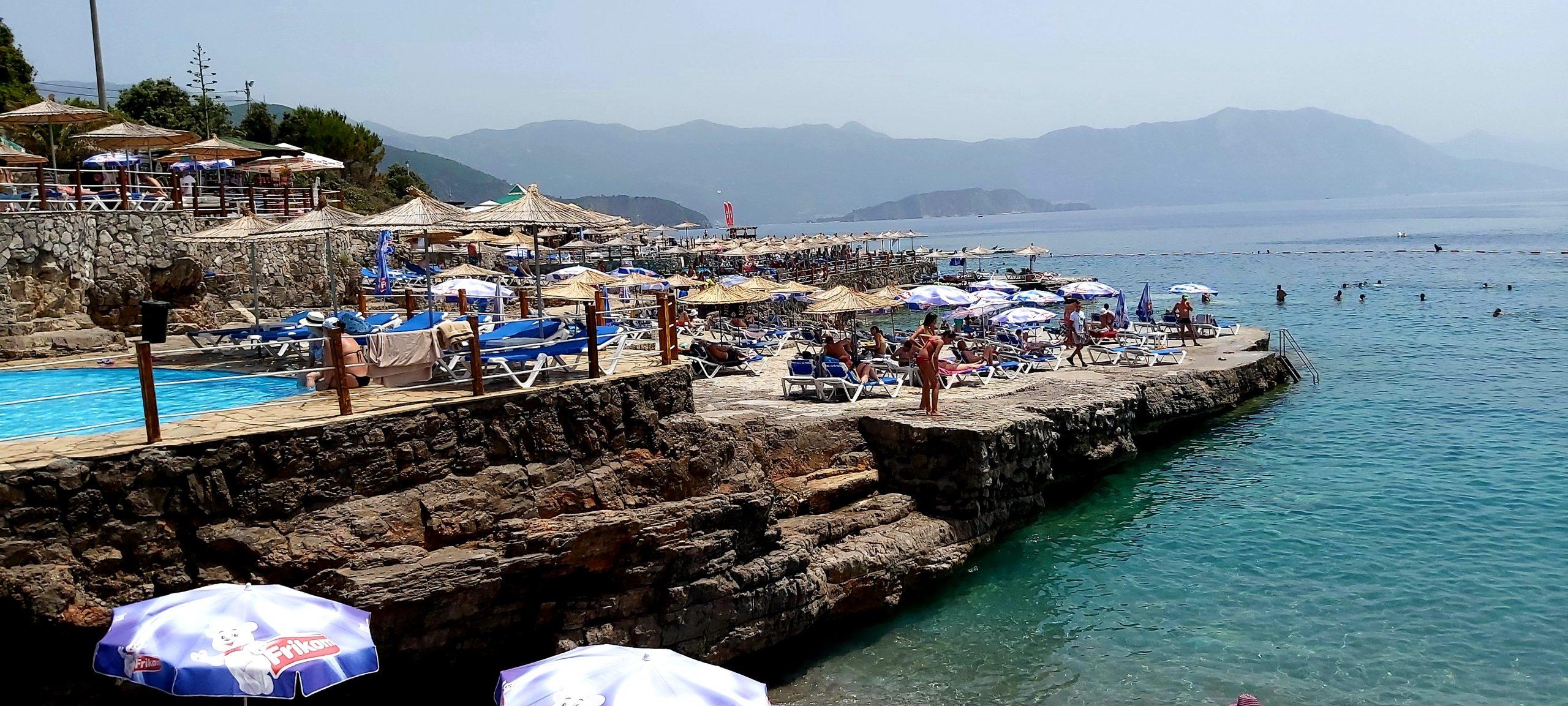 Crna Gora, plaže
