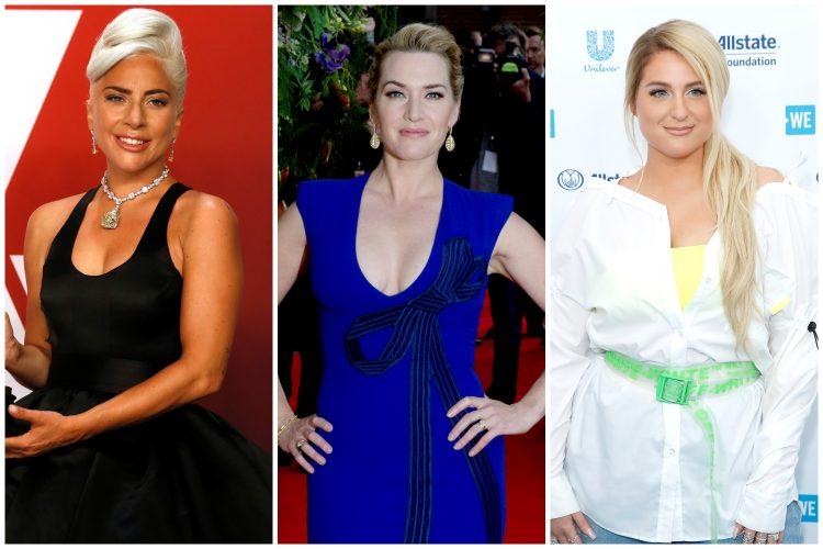 Lejdi Gaga, Kejt Vinslet, Megan Trejnor