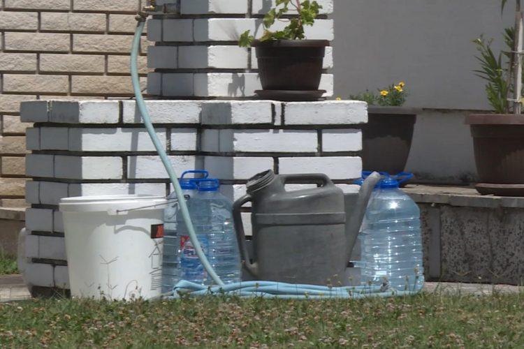 Vrčin, nestašica vode, nema vode, voda