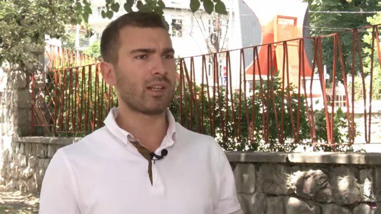 Vuk Velebit, Incident u predsedništvu