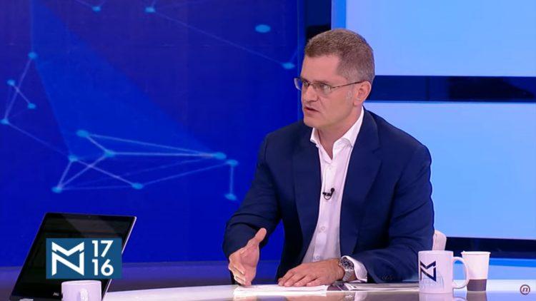 Vuk Jeremić, gost, emisija Među nama, Medju nama