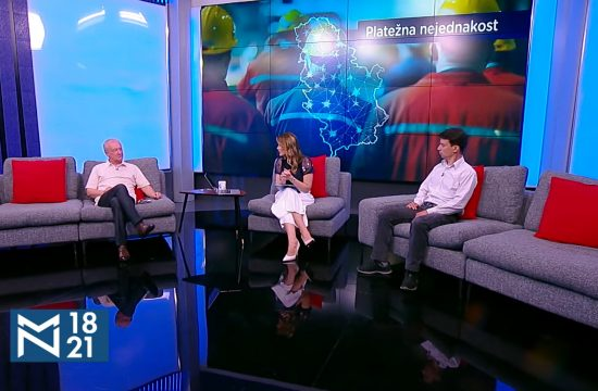 Zoran Mihajlović, Aleksandar Milošević, Platežna nejednakost, emisija Među nama, Medju nama
