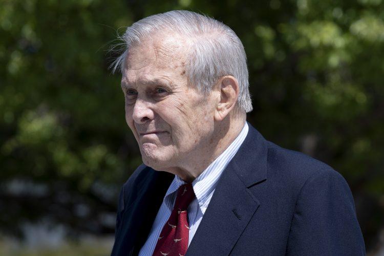 Donald Rumsfeld, Donald Ramsfeld, umro, preminuo