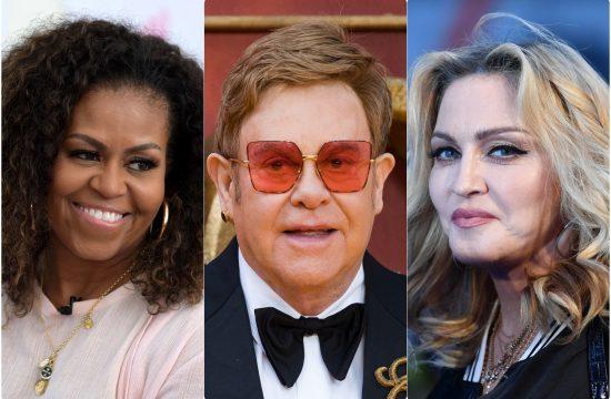 Misel Obama Elton Dzon i Madona