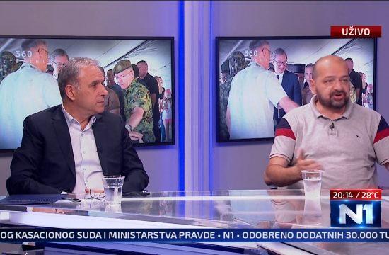 Zdravko Ponos i Dragan Sormaz Emisija 360 stepeni
