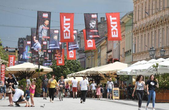 Egzit Exit Festival Novi Sad
