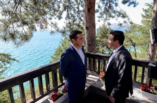 Aleksis Cipras i Zoran Zaev