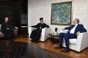 Premijer Zdravko Krivokapic razgovarao sa episkopima zahumsko-hercegovacki g. Dimitrije i milesevski, g. Atanasije Rakita