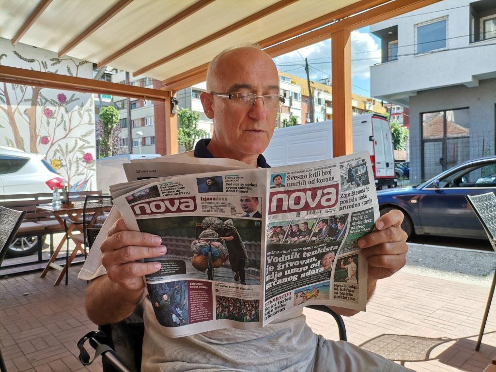 Kraljevo karavan podela novina Nova