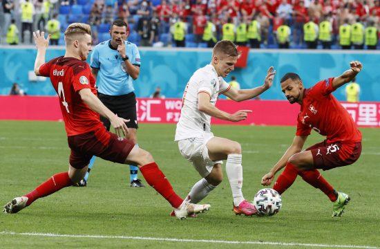 Fudbalska reprezentacija Španije, Švajcarske