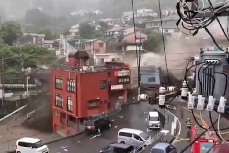 Japan, klizište, nevreme, kiša
