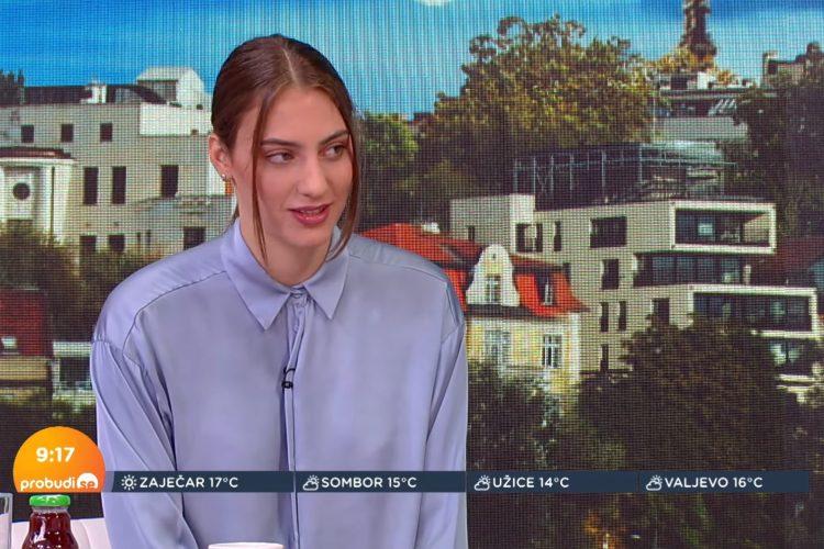 Milica Janković, jutarnji program, emisija Probudi se