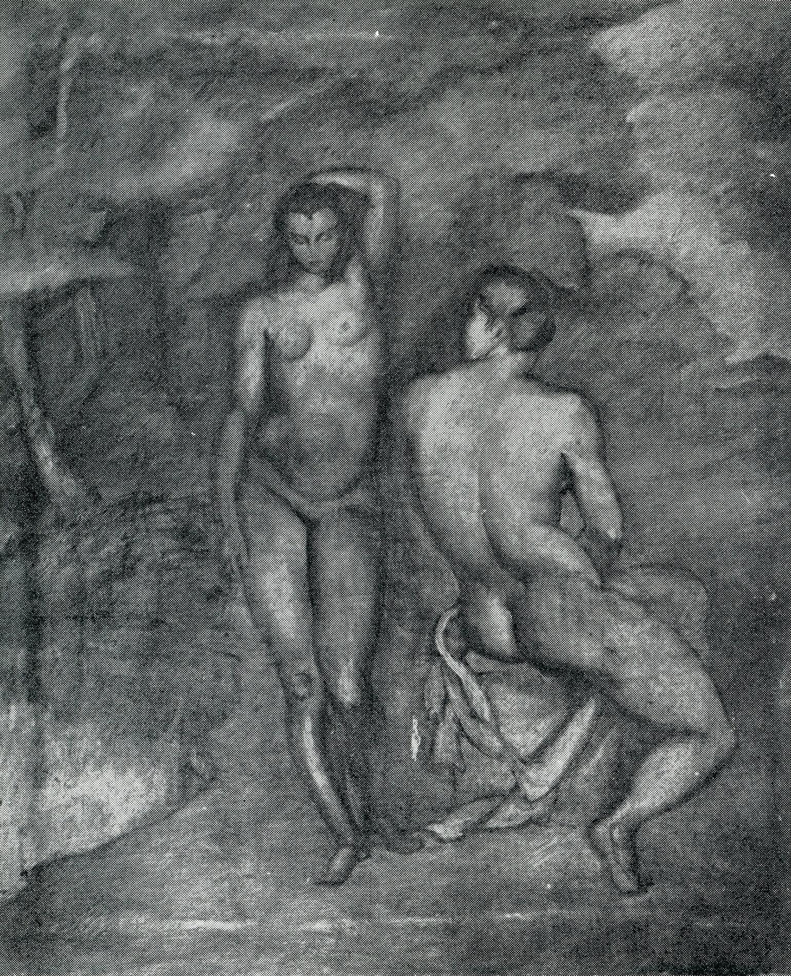 Petar Dobrović, Na kupanju, 1923