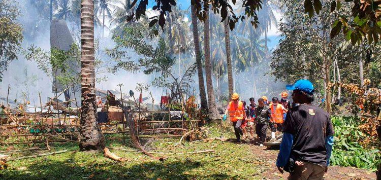 Filipini, vojni avion, nesreća