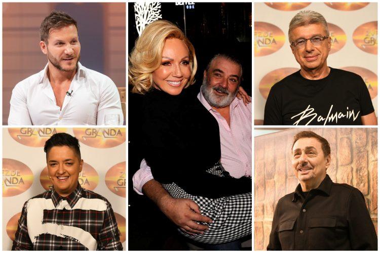 Saša Kovačević, Marija Šerifović, Lepa Brena, Boba Živojinović, Saša Popović, Dragan Kojić Keba, komšije